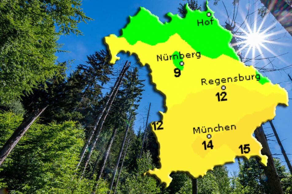 Sonne satt im Freistaat, doch das Gewitterrisiko steigt