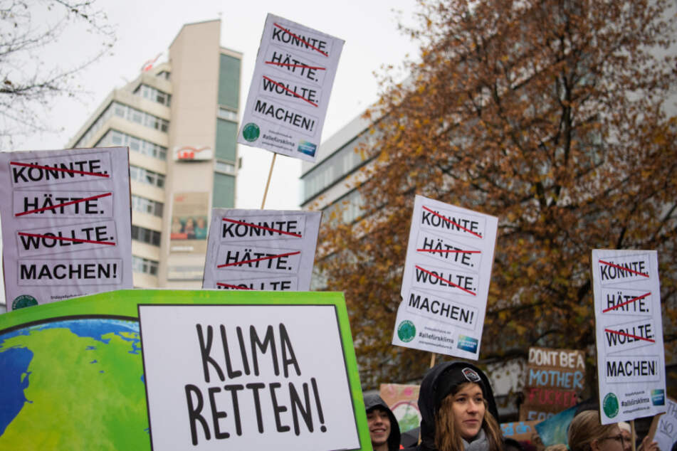 """Die Bewegung """"Fridays for Future"""" ruft für Freitag zu Protesten unter Einhaltung der Kontaktbeschränkungen auf."""