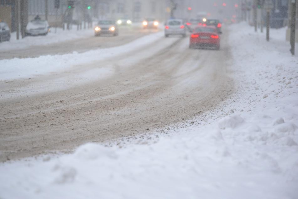 In Osnabrück fielen mehreren Zentimeter Neuschnee.