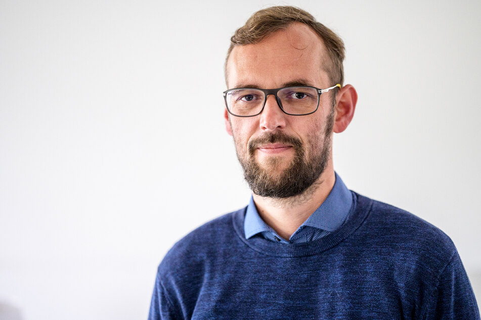 Tim Detzner (42, Direktkandidat im Wahlkreis 162, Chemnitz).