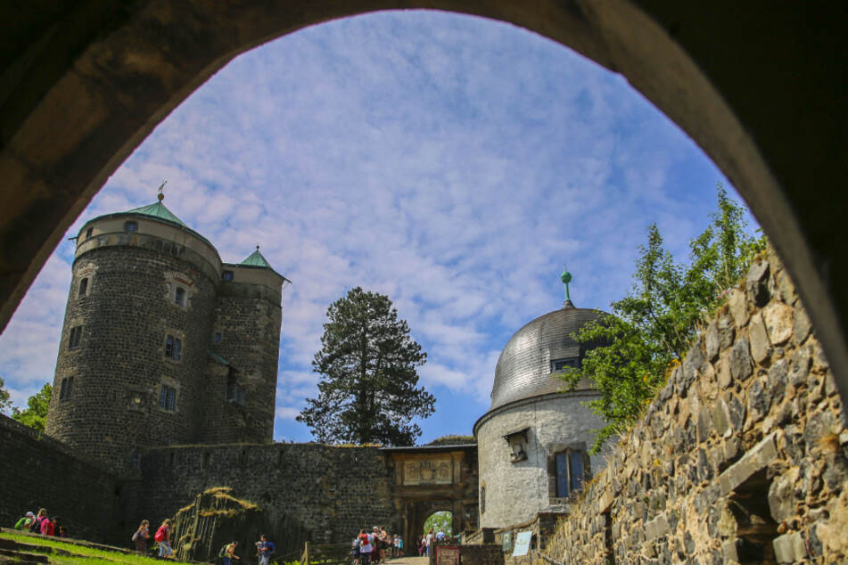 Auf der Burg Stolpen ist an diesem Wochenende einiges los (Symbolbild).