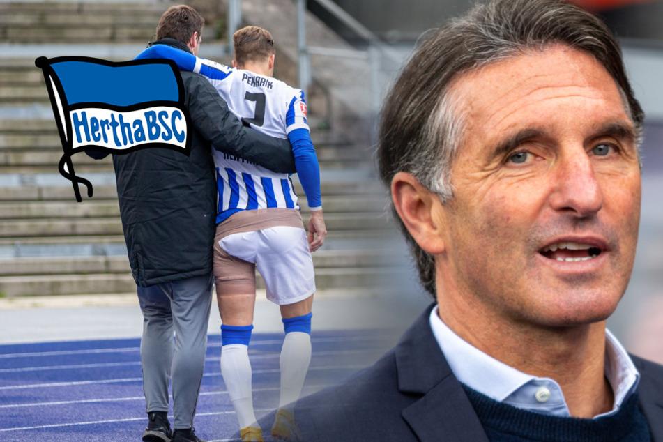 Hertha nach drei Niederlagen in Serie wieder in der Krise?