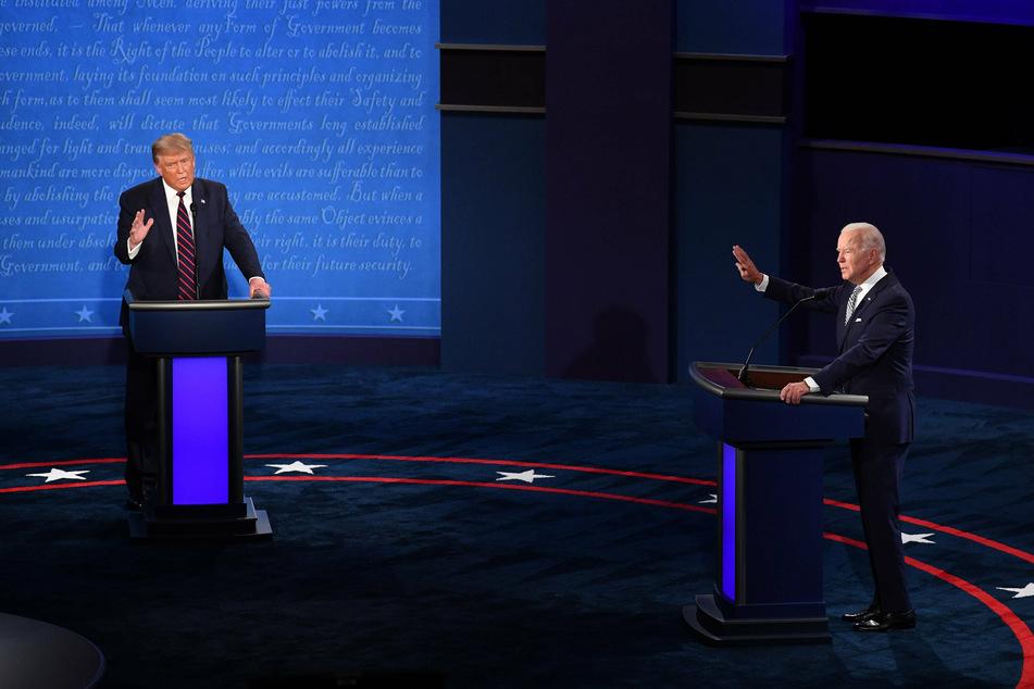 President Trump and Democratic candidate Joe Biden.