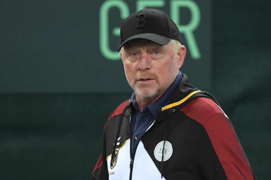 Tennis-Ikone Becker will mit der Aktion Tennis-Trainer unterstützen, die aktuell wegen Corona arbeitslos sind.