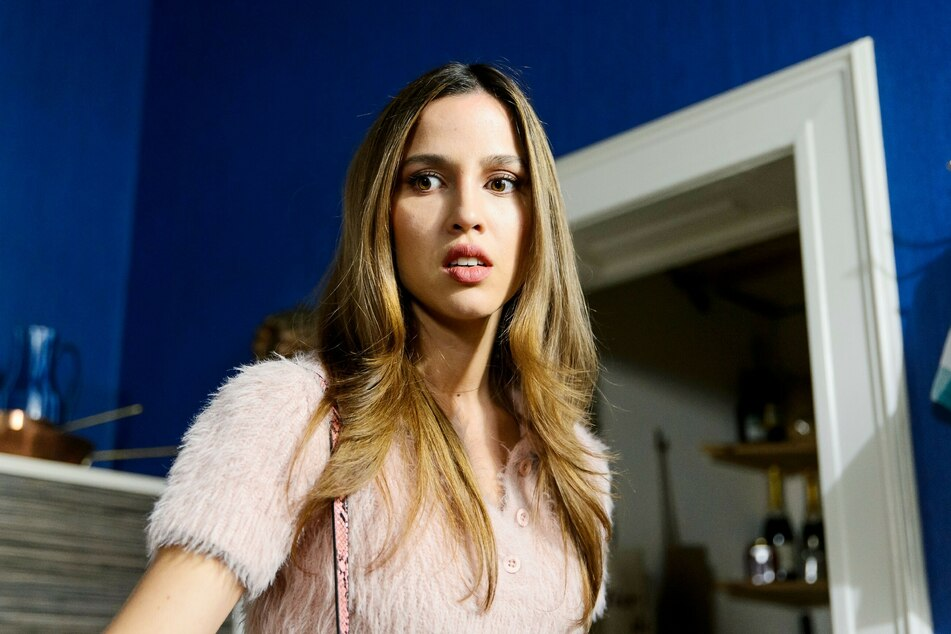 "Chiara (Alexandra Fonsatti, 28) war Gretas größte Konkurrentin bei ""Alles was zählt""."
