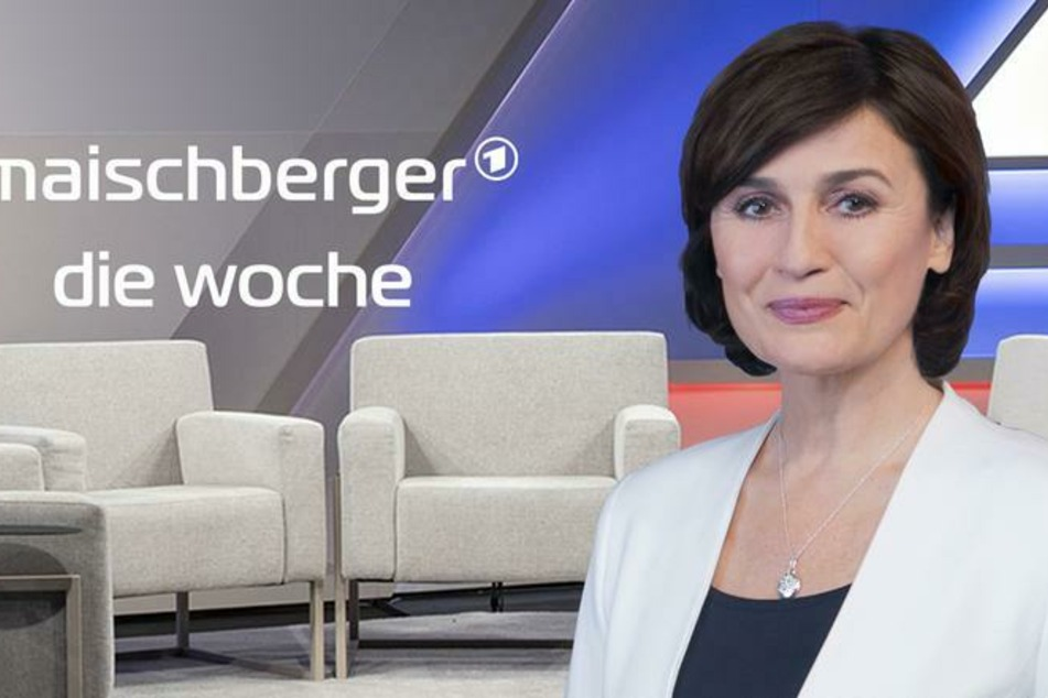Moderatorin Sandra Maischberger (55) hat den Wochendurchblick im Ersten.
