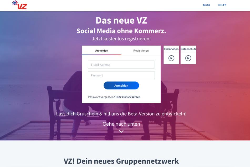 VZ.net ging im April 2020 an den Start und wollte an den Erfolg von studiVZ anknüpfen.