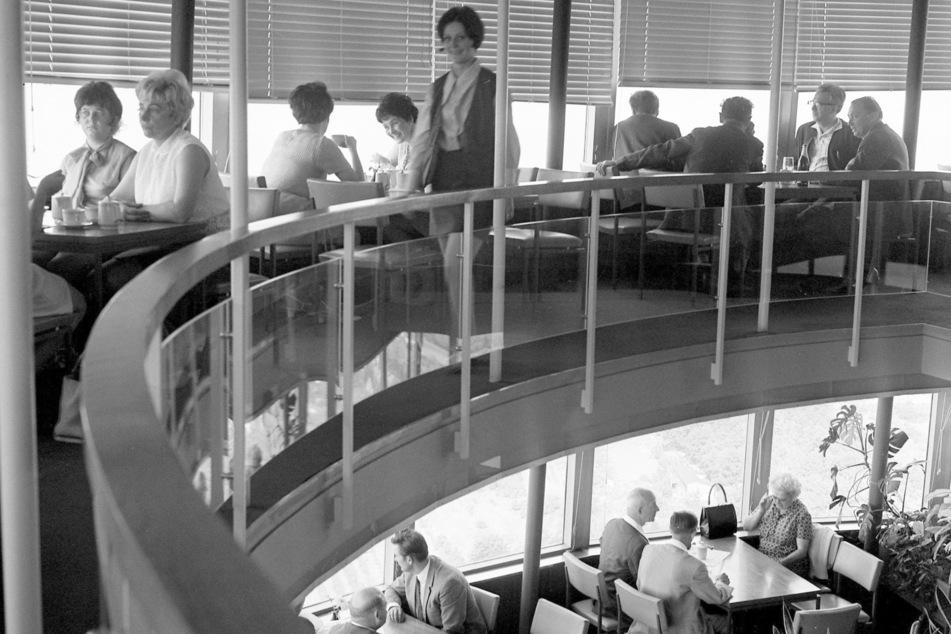 Die Eierschecke auf dem Fernsehturm: 1975 eine Selbstverständlichkeit für viele Dresdner.