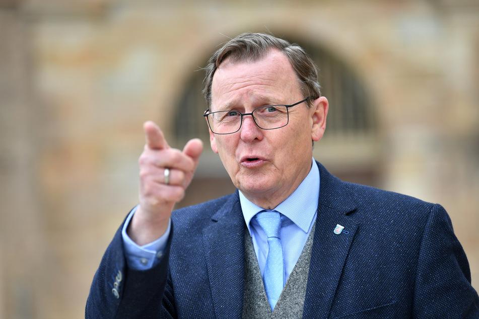 Bodo Ramelow (65, Die Linke), Ministerpräsident von Thüringen, hält die Bundes-Notbremse in seinem Bundesland für wirkungslos.