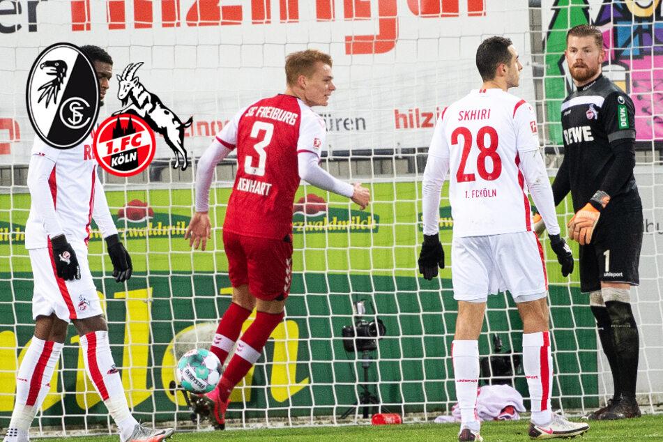 Chancenloser 1. FC Köln kassiert beim SC Freiburg heftige Klatsche!