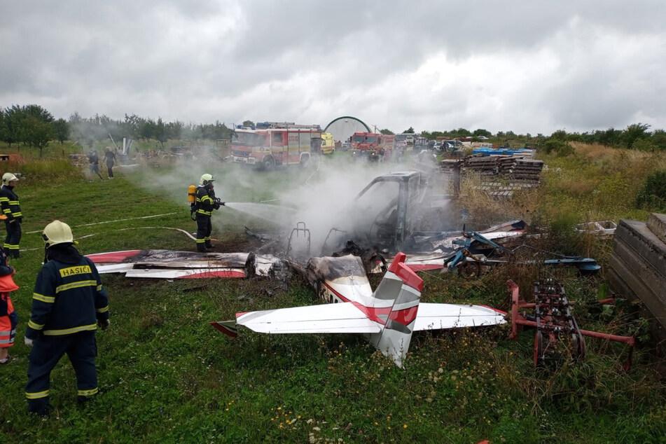 Alle Insassen konnten nur noch tot aus dem Flugzeugwrack geborgen werden.
