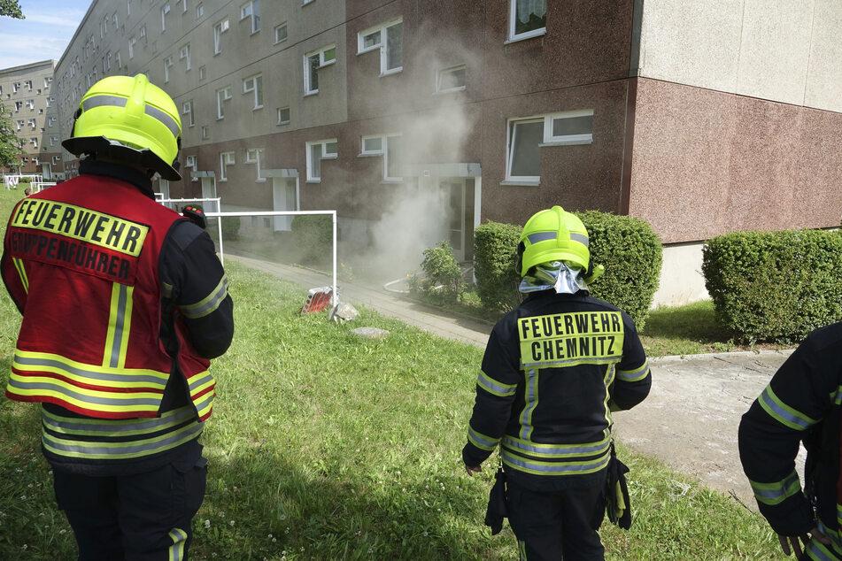 In der Marie-Tilch-Straße ist es zu einem Kellerbrand gekommen.