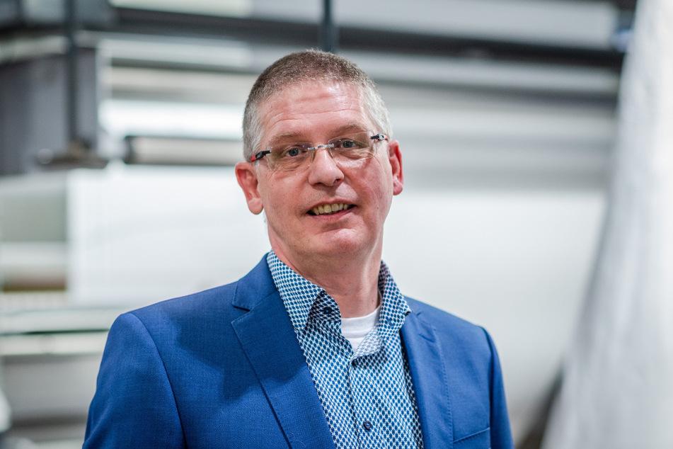 Björn-Olaf Dröge (54), Geschäftsführer von pro4tex.