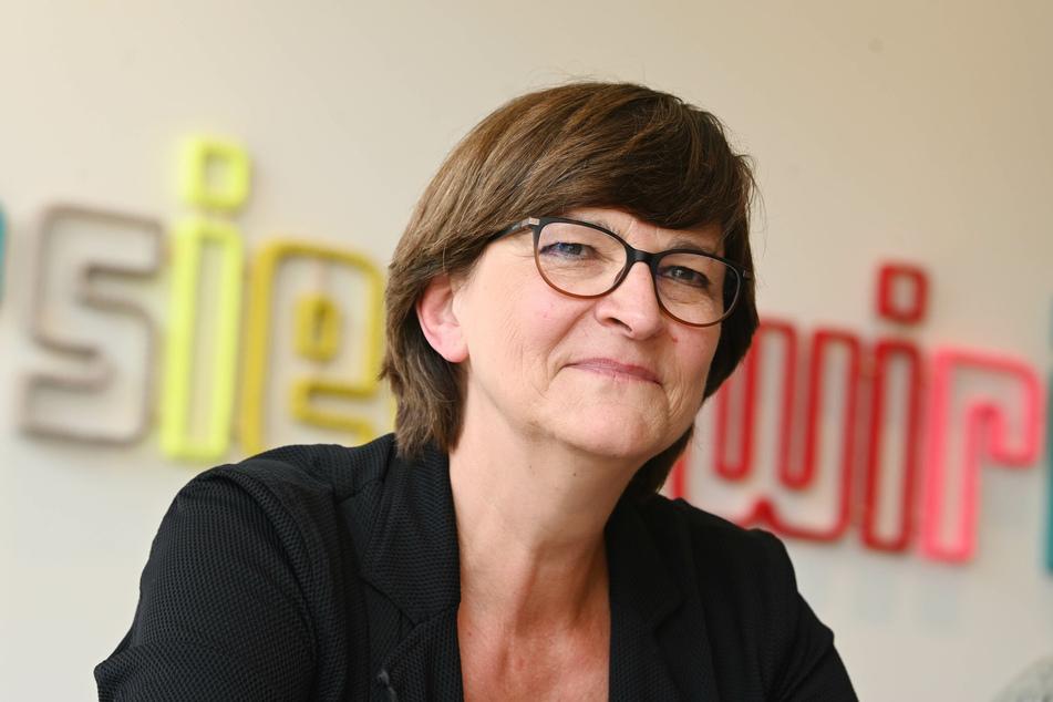 Saskia Esken ist die Parteivorsitzende der SPD.