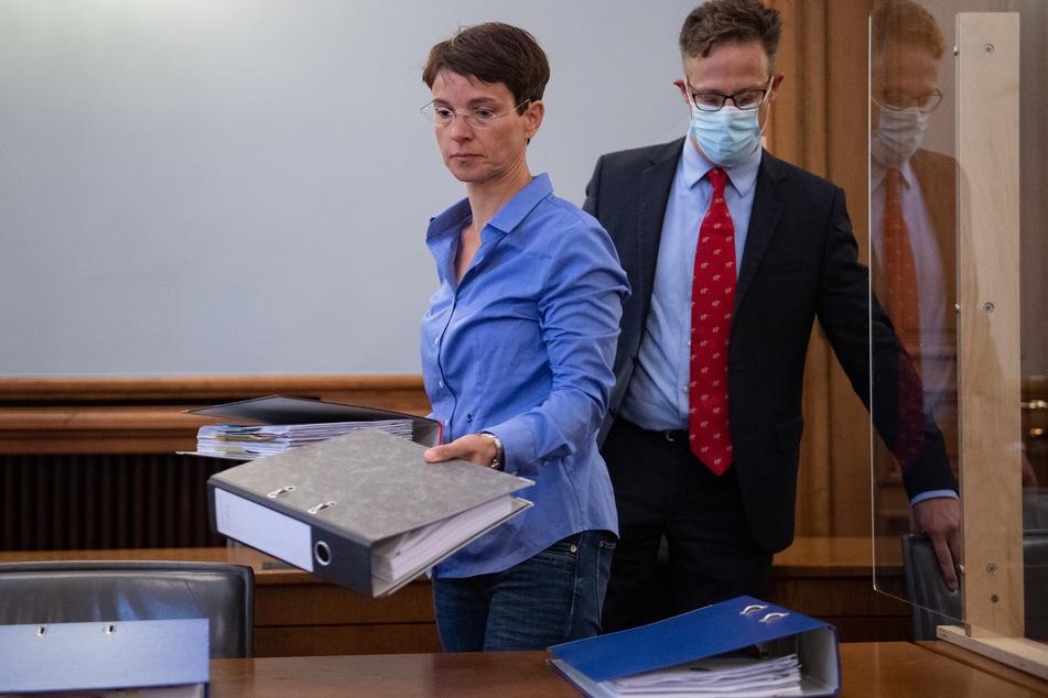Am Montag wird das Urteil im Berufungsprozess gegen Frauke Petry (46) erwartet.