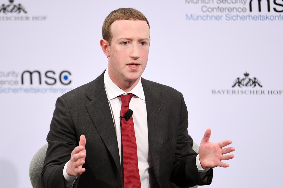 Mark Zuckerberg (36), Vorstandsvorsitzender von Facebook.