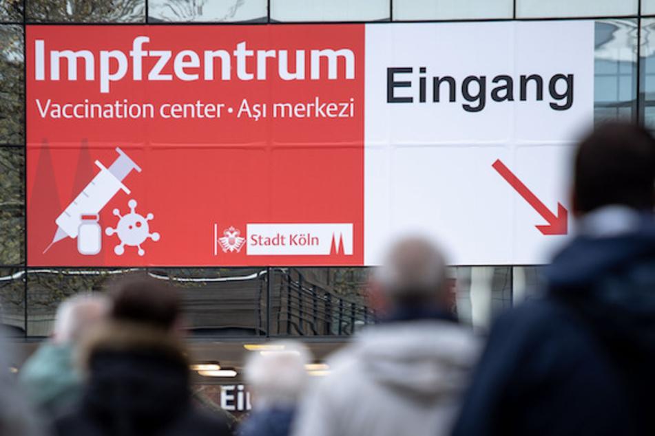 Ein Corona-Impfzentrum in Köln.