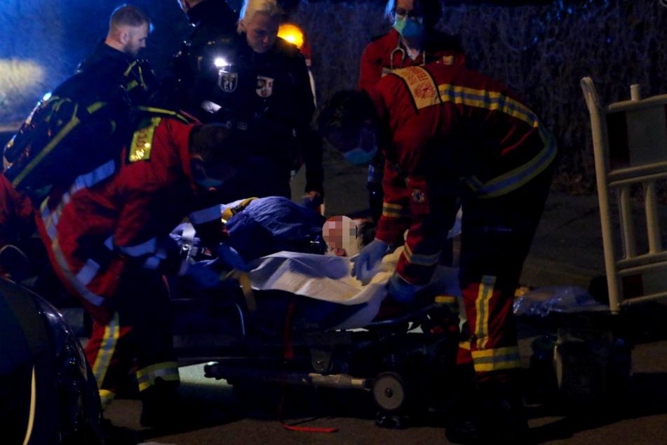 Der junge Mann wurde schwer verletzt.