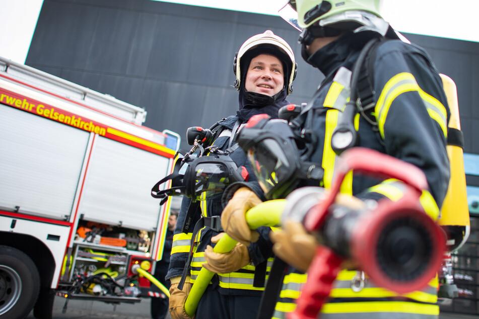 Am Donnerstag berichten die NRW-Feuerwehren via Twitter über ihren Alltag. (Symbolbild)
