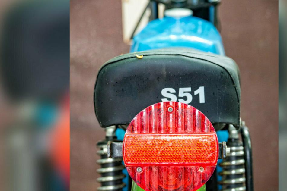 In Plauen wurde eine Simson S51 gestohlen. (Symbolbild)