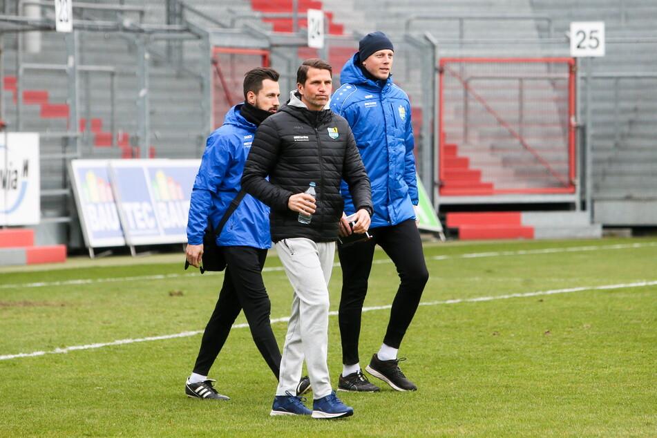 Dem Ex-Chef hinterher: Florian Braband (31, l.) folgt dem ehemaligen CFC-Trainer Patrick Glöckner (44, M.) zu Drittligist Waldhof Mannheim.