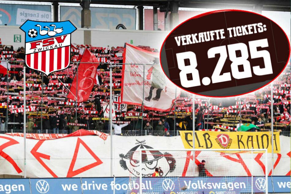 Geistertickets gehen weg wie warme Semmeln: FSV Zwickau peilt trotz Corona ausverkauftes Derby an