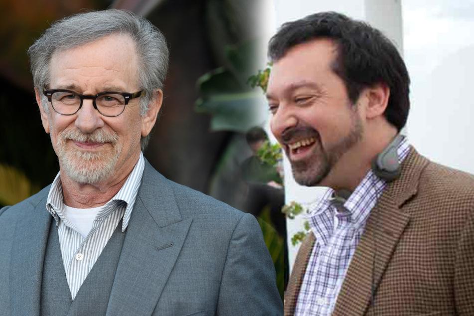 James Mangold (57, r.) legte sich auf Twitter mit einem Kritiker an. Für den fünften Indy-Film übernimmt er die Regie - bei den vier vorherigen Teilen war es noch Steven Spielberg (74).