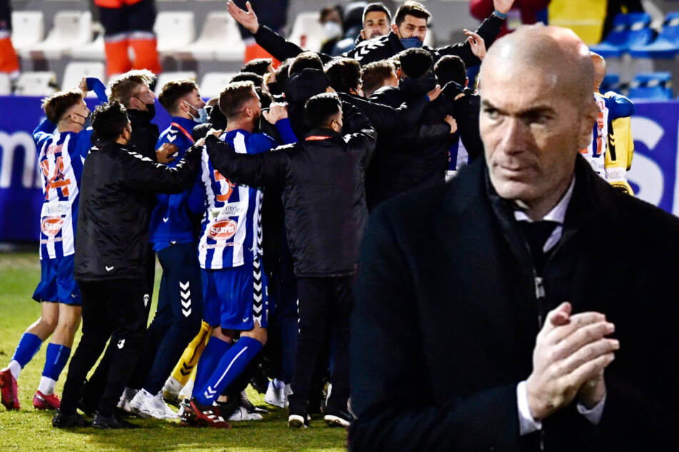 Real Madrid mit Mega-Blamage raus aus dem Pokal: Drittligist schafft die Sensation!