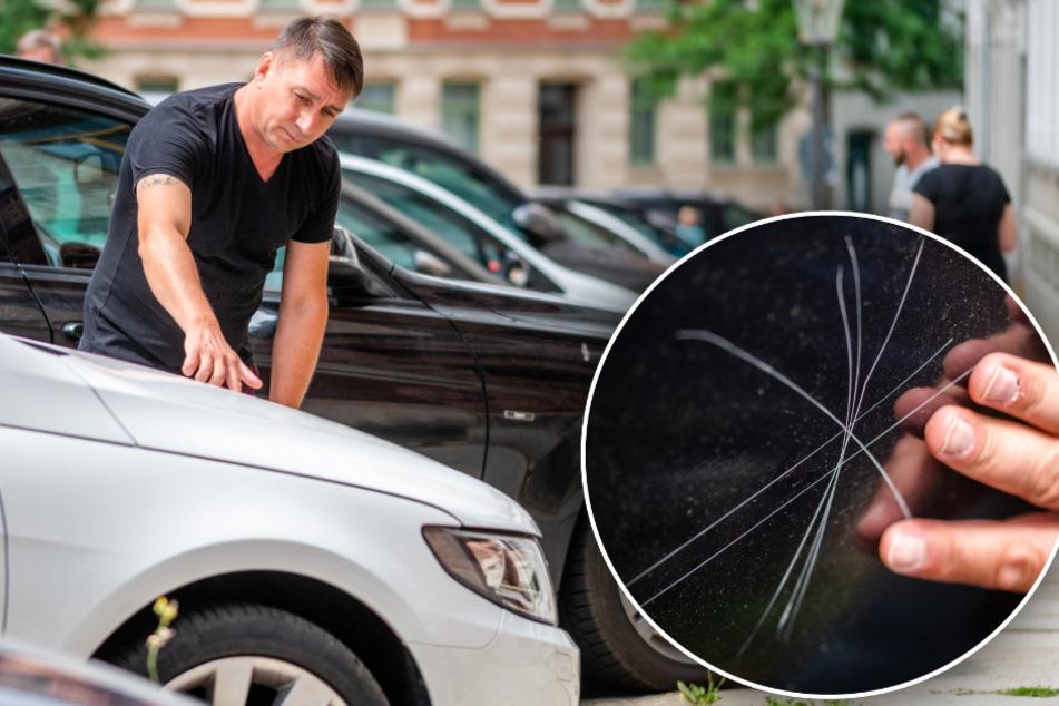 Chemnitz: Schon 26 Fälle! Mysteriöse Attacken gegen Autos auf dem Sonnenberg