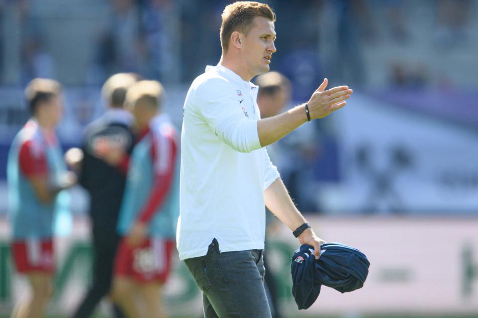 Aleksey Shpilevski (33) gelang mit Aue in sieben Liga-Partien und einem Pokalspiel kein Sieg. Folgerichtig seine Beurlaubung.
