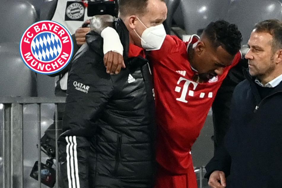 "FC Bayern gibt ""Entwarnung"" bei Boateng: Kapselzerrung im Knie"