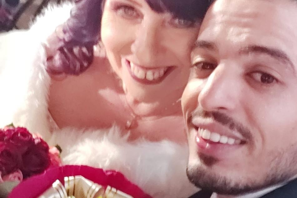 Im Januar dieses Jahres trat das Paar vor den Traualtar.