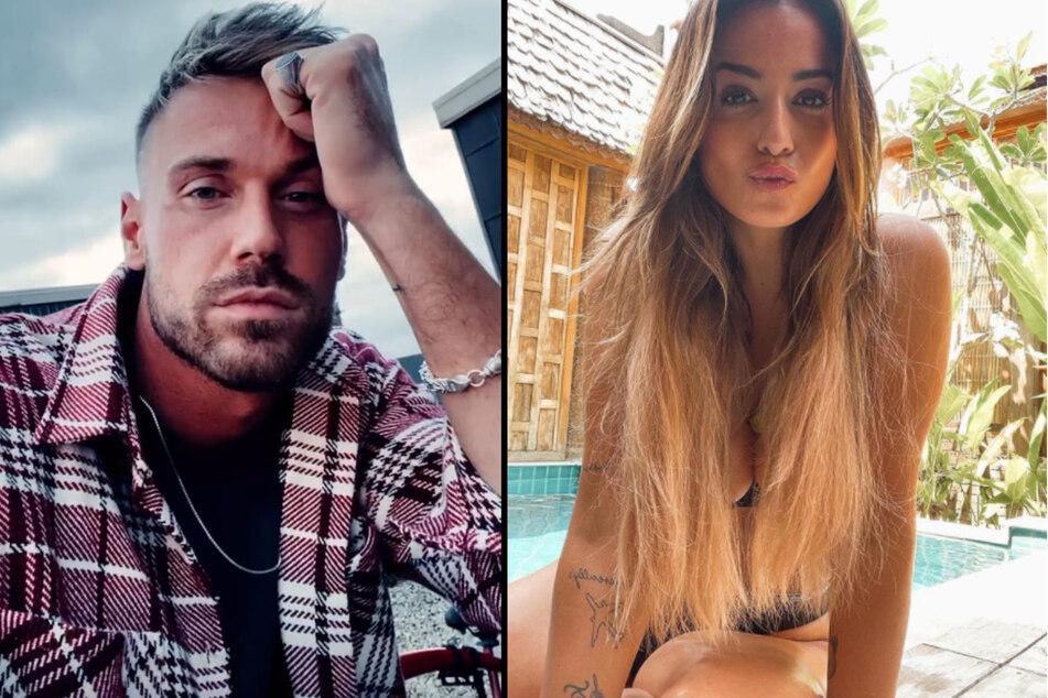 """Chris Broy (31) und Jenefer Riili (29) haben sich bei den Dreharbeiten zu """"Kampf der Realitystars"""" kennengelernt. Danach trennte sich Chris von seiner Verlobten Eva Benetatou (29). (Fotomontage)"""