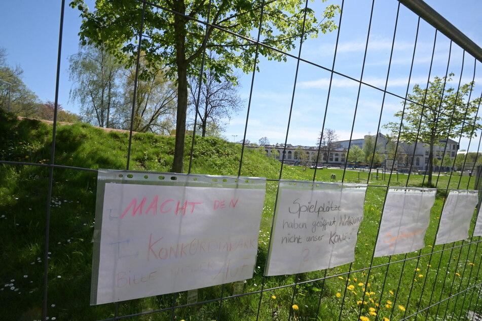 Seit November ist der bei Kindern und Jugendlichen beliebte Konkordiapark abgesperrt.