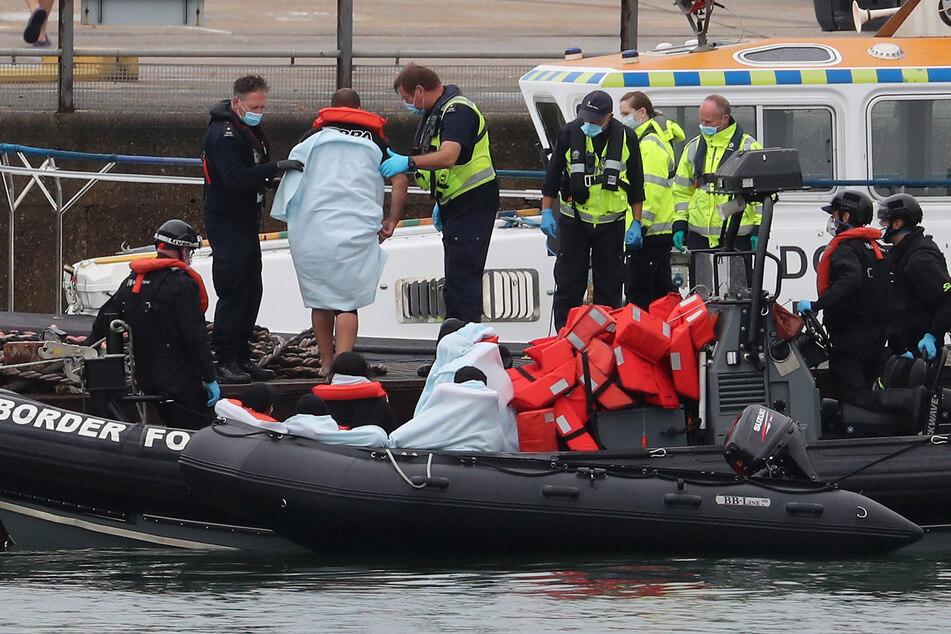 58 Menschen im Ärmelkanal gerettet