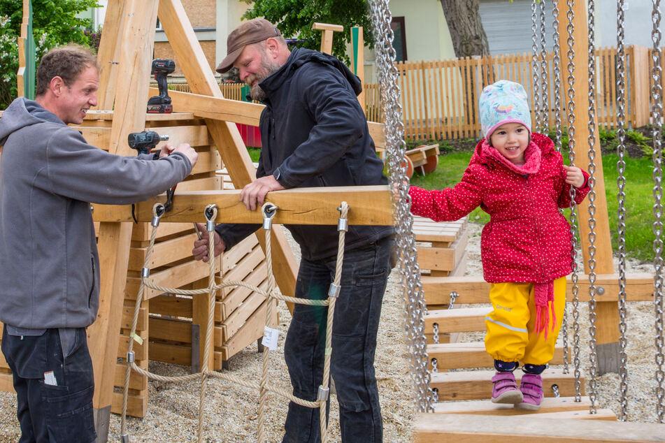 Dresden: Großes Ausbauprogramm für Dresdens Spielplätze: Darauf können sich Kinder und Eltern freuen