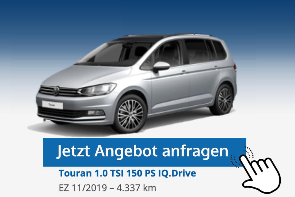 Touran (1.0 TSI 150 PS IQ.Drive) für 25.890 Euro bzw. 269 Euro/Monat*