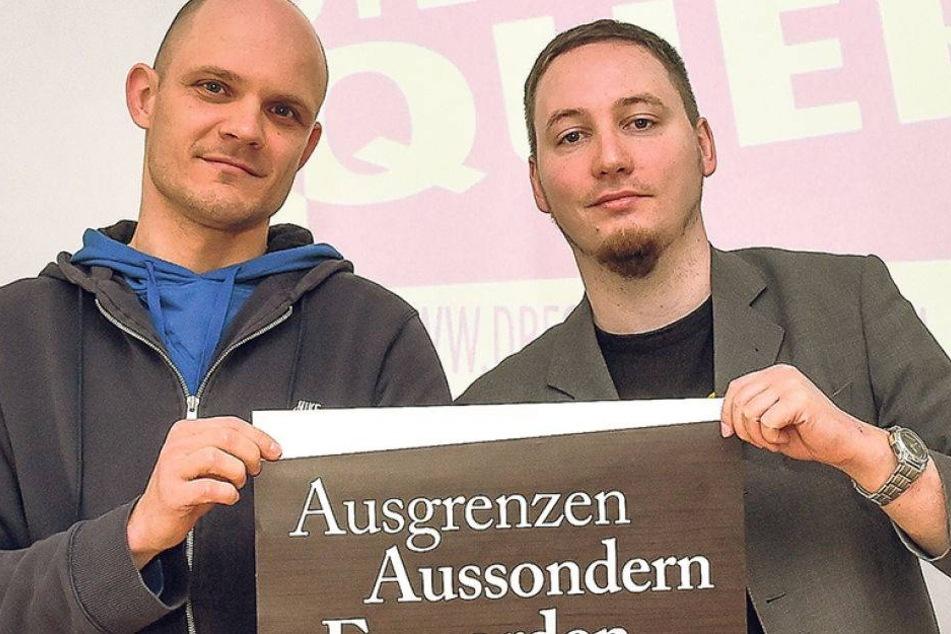 Nazifrei erinnert an Nazi-Verbrecher in Dresden