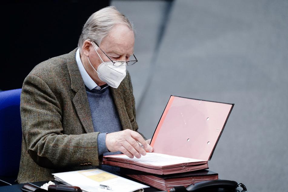 Alexander Gauland (80), Fraktionsvorsitzender der AfD, wurde gegen das Coronavirus geimpft.