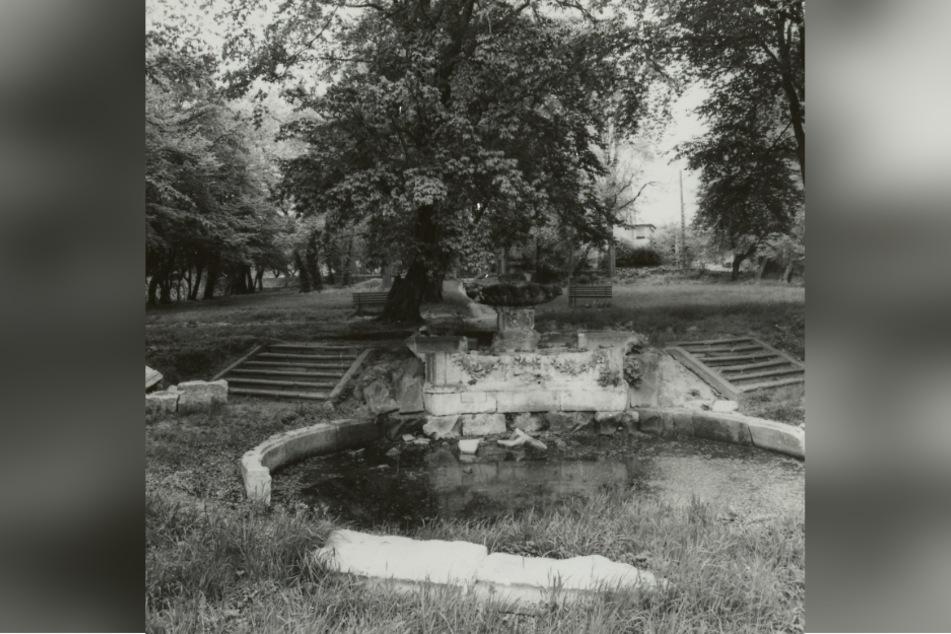 Viele Jahre lang war der Gönnsdorfer Brunnen in einem miserablen Zustand.