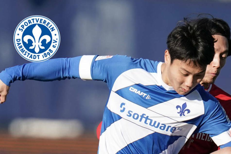 Seung-ho Paik verlässt den SV Darmstadt 98 mit sofortiger Wirkung