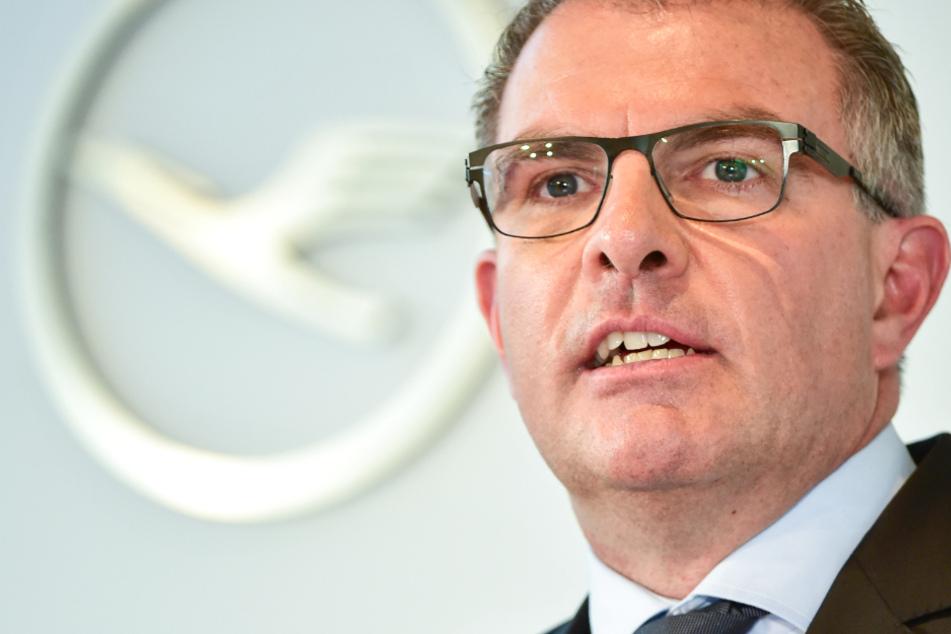 Das Foto zeigt Carsten Spohr, den Vorstandsvorsitzenden der Deutschen Lufthansa AG.