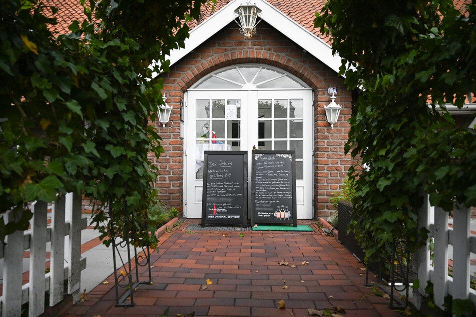 """Das Restaurant """"Alte Scheune"""" in Leer."""