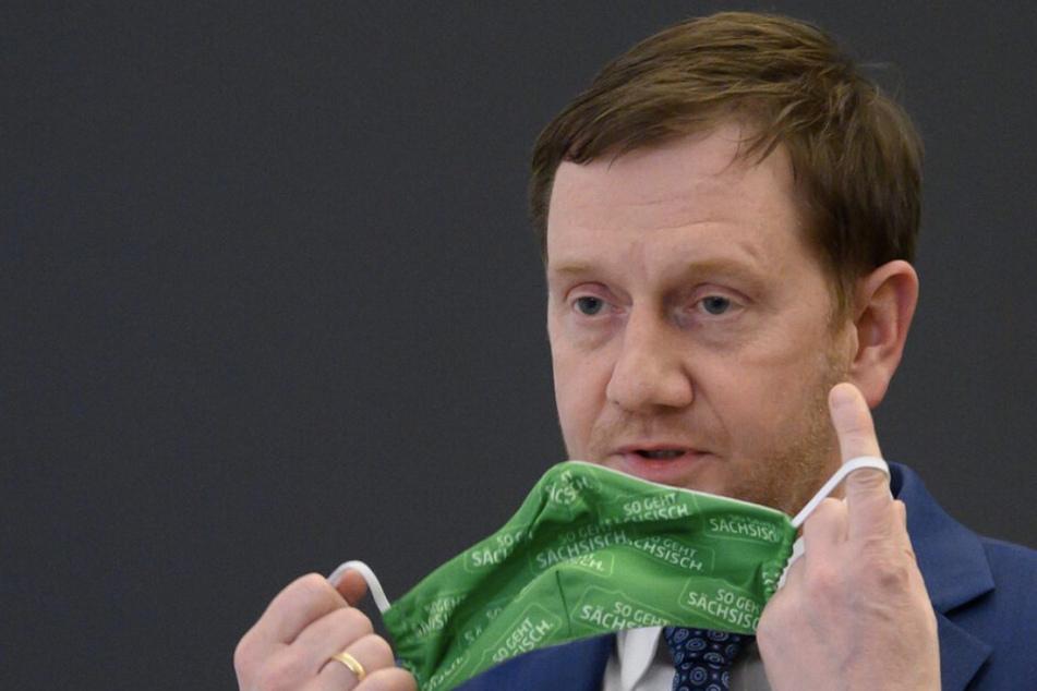 Ministerpräsident Michael Kretschmer (45, CDU) kündigte in einer Videokonferenz an, dass der Einzelhandel bald wieder öffnen soll.
