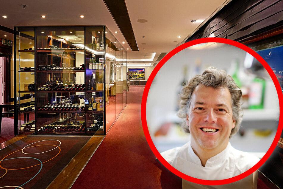"""Die ausgefallene Küche des """"Falco"""" wurde mehrfach ausgezeichnet. Peter Maria Schnurr war u.a. """"Bester Koch des Jahres""""."""