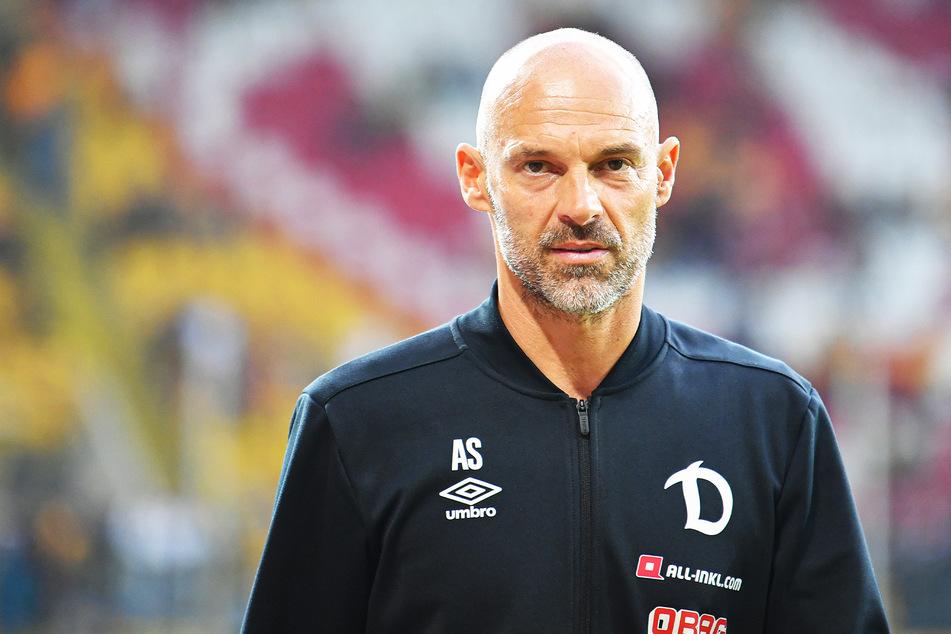Kein Phrasendrescher: Dynamo-Trainer Alexander Schmidt (52) zeigte auch im Zweitliga-Doppelpass bei Sport1 klare Kante.