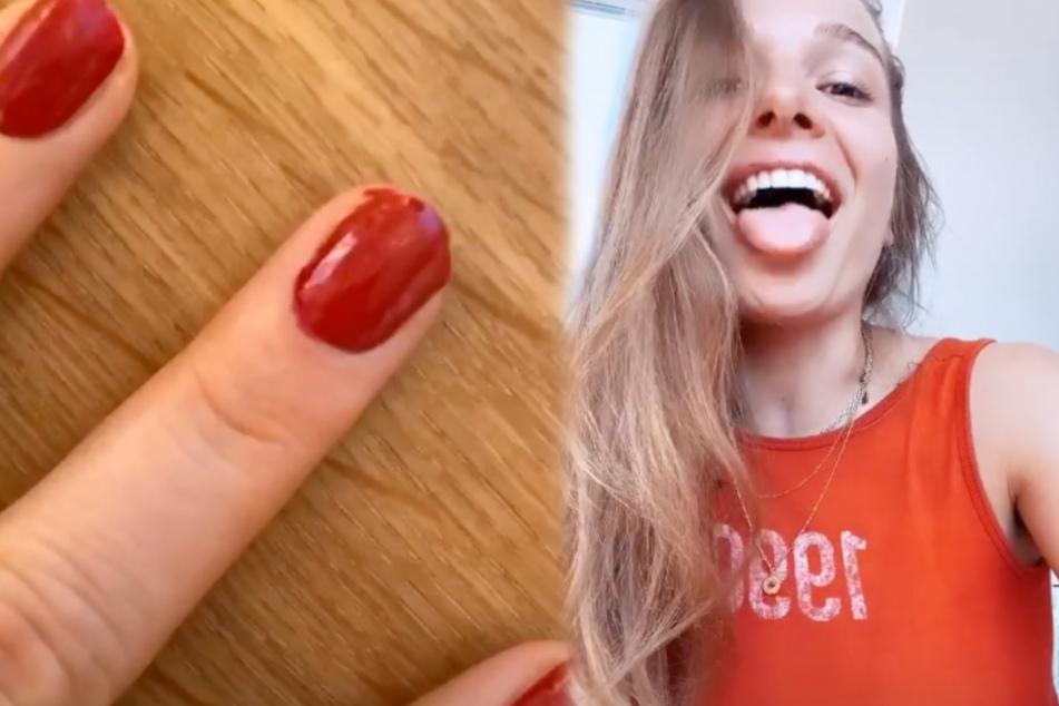 "Moderatorin und Model Lola Weippert knöpft sich ""Bibis Beauty Palace"" vor"