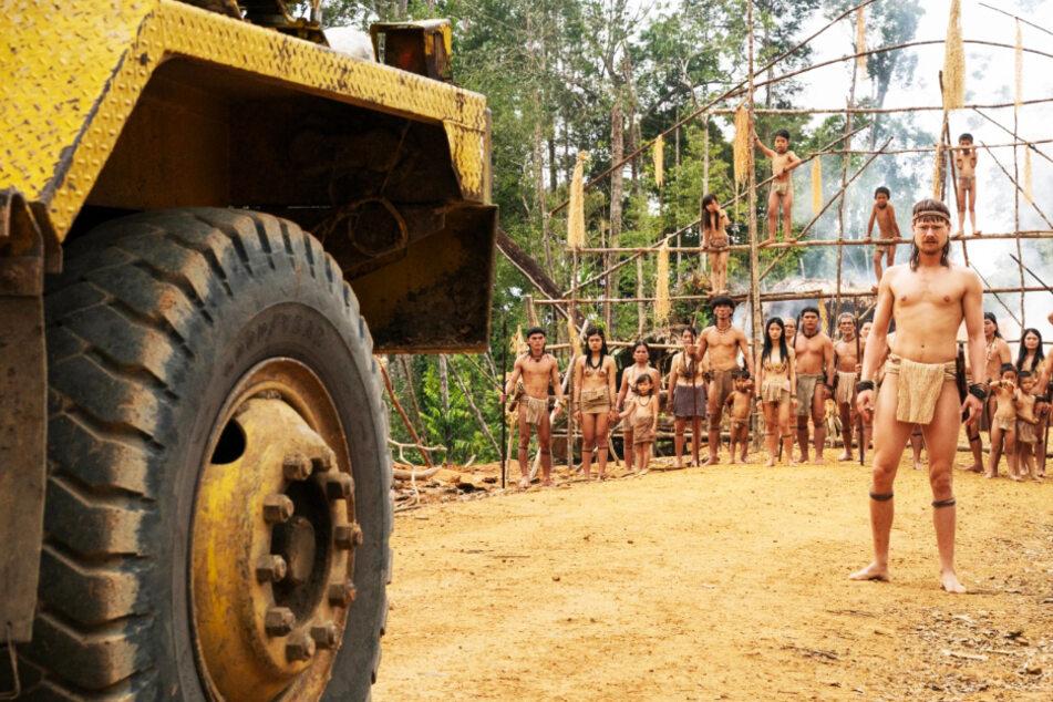 """""""Die Stimme des Regenwaldes"""": Ein Mann kämpft gegen die Vernichtung des Dschungels und der Ureinwohner!"""