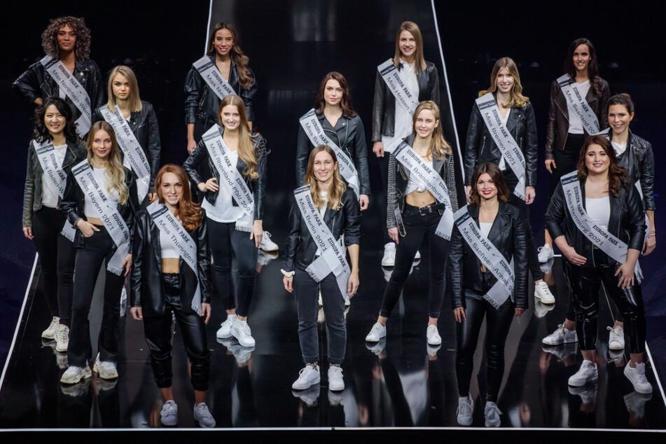 """Welche dieser Schönheiten wird heute die neue """"Miss Germany""""?"""