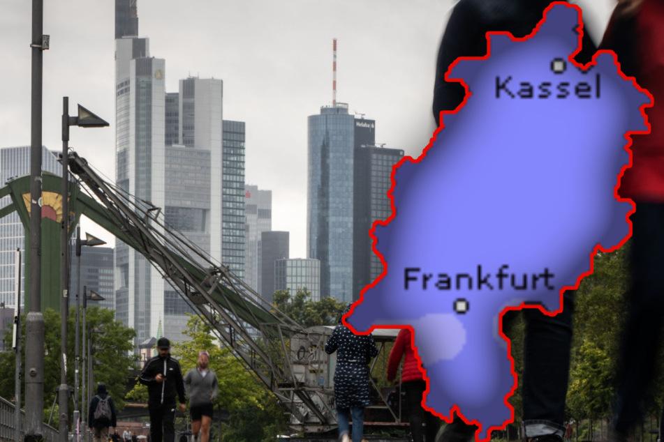 Bye-bye Spätsommer! Regen und Gewitter haben Hessen fest im Griff